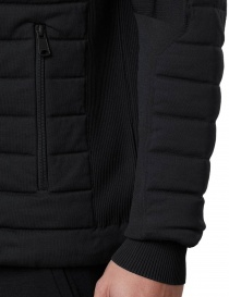 Ze-Knit by Napapijri Ze-K100 black bomber jacket for Men price
