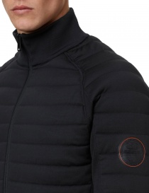 Ze-Knit by Napapijri Ze-K100 black bomber jacket for Men mens jackets buy online