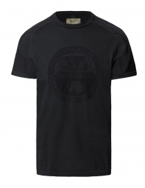 T shirt uomo online: T-shirt Ze-K109 nera Ze-Knit by Napapijri