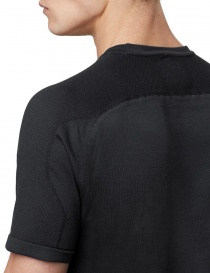 Ze-Knit by Napapijri black T-shirt Ze-K109 price