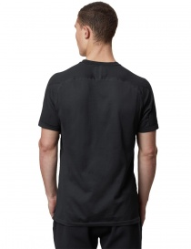 Ze-Knit by Napapijri black T-shirt Ze-K109 mens t shirts buy online