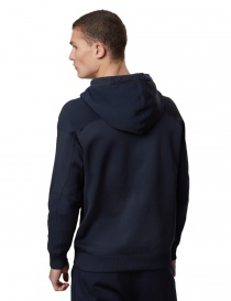Ze-Knit Napapijri Rainforest Ze-K103 blue hooded sweatshirt