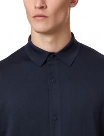 Camicia a maniche lunghe Ze-K110 Ze-Knit by Napapijri blu
