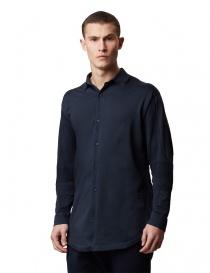 Camicia a maniche lunghe Ze-K110 Ze-Knit by Napapijri blu prezzo