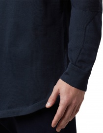Ze-Knit by Napapijri Ze-K110 long-sleeved blue shirt mens shirts buy online
