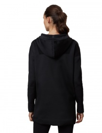 Ze-knit by Napapijri Ze-K206 long hooded black sweatshirt price