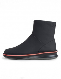 Rolling Camper black ankle boot with Michelin sole