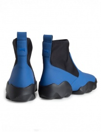 Dub Camper high-top sneakers in black and electric blue price