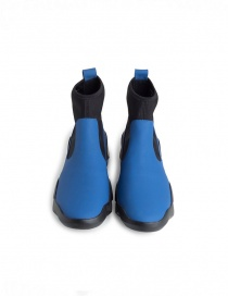 Dub Camper high-top sneakers in black and electric blue womens shoes buy online
