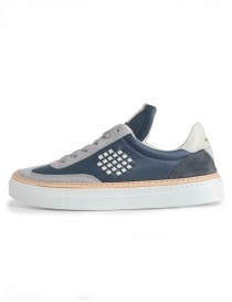 Men's BePositive grey and navy blue shoes