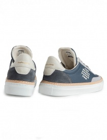 Men's BePositive grey and navy blue shoes price