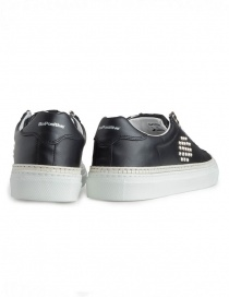 BePositive black studded sneakers for men price