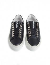 Sneakers BePositive nere con borchie da uomo calzature uomo acquista online