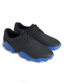 Camper Dub black and blue shoes K100399-001 MUGELLO
