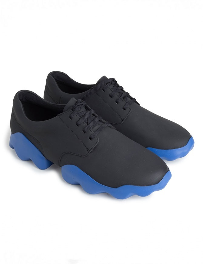 Scarpa Camper Dub nera e blu K100399-001 MUGELLO calzature uomo online shopping