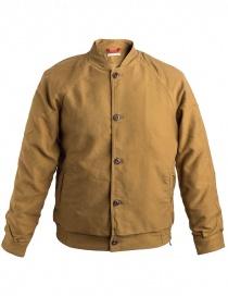 Mens jackets online: Homecore Karya jacket yellow tobacco