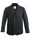 Giacca Sage de Cret nera in lana effetto rugoso acquista online 31-80-3062