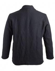 Giacca Sage de Cret nera in lana effetto rugoso