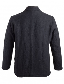 Sage de Cret wrinkled wool black jacket