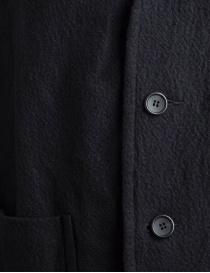 Giacca Sage de Cret nera in lana effetto rugoso prezzo