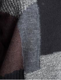 Maglia Fuga Fuga Faha effetto patchwork nera prezzo