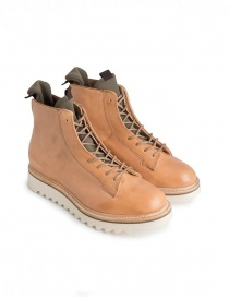 Mens shoes online: BePositive Master MD beige and black boots