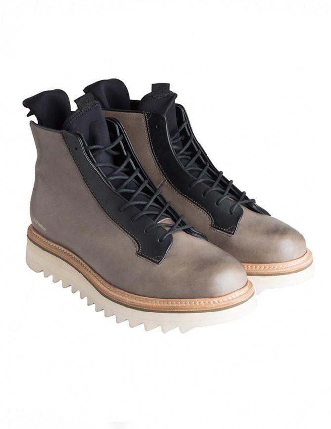 Scarponcini BePositive Master MD verde oliva e neri 8FMOLA01/LEA/MIL-MAS calzature uomo online shopping