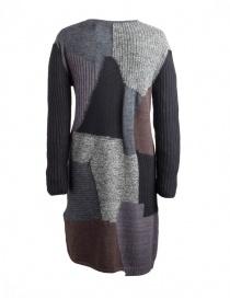 Fuga Fuga Faha black gray brown wool dress buy online