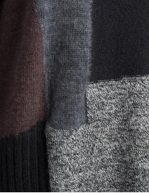 Fuga Fuga Faha black gray brown wool dress price