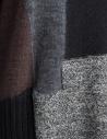 Fuga Fuga Faha black gray brown wool dress FAHA123W BLK DRESS price