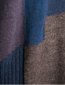 Fuga Fuga Faha blue brown violet wool dress price