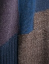 Fuga Fuga Faha blue brown violet wool dress FAHA123W BLUE DRESS price