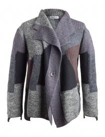 Cardigan donna online: Cardigan Fuga Fuga Faha nero grigio lavanda marrone