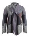 Fuga Fuga Cardigan Faha black gray lavender brown buy online FAHA124 BLACK