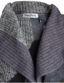 Cardigan Fuga Fuga Faha nero grigio lavanda marrone prezzo