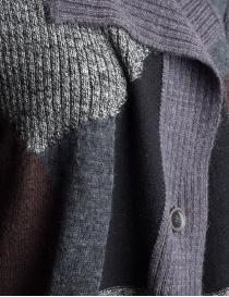 Cardigan Fuga Fuga Faha nero grigio lavanda marrone cardigan donna acquista online