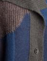 Cardigan Fuga Fuga Faha blu marrone grigio e lavanda FAHA124W BLUE PULLOVER prezzo