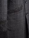 M.&Kyoko Kaha reversible coat black/colored checks KAHA752W-81 BLACK COAT price