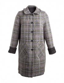 M.&Kyoko Kaha reversible coat black/colored checks womens coats buy online