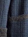 Cappotto M.&Kyoko Kaha reversibile blu a quadri colorati KAHA752W D-BLUE COAT prezzo