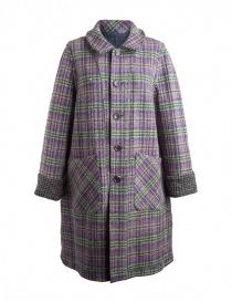Cappotto M.&Kyoko Kaha reversibile blu a quadri colorati cappotti donna acquista online
