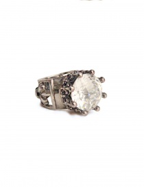 ElfCraft ring with zirconia stone 800.377-RING-L.58
