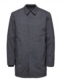 Cappotto imbottito Selected Homme grigio online