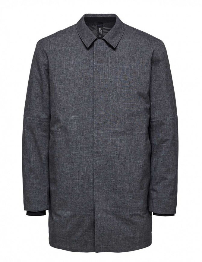 Cappotto imbottito Selected Homme grigio 16061963 SLHRAS TECH COAT B