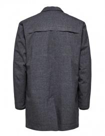 Cappotto imbottito Selected Homme grigio acquista online