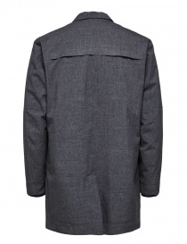Selected Homme grey padded coat