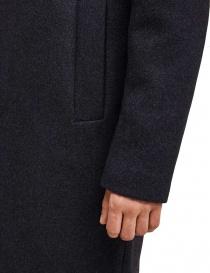 Cappotto Selected Homme grigio colletto a camicia prezzo