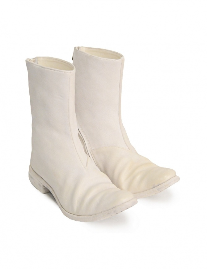 Carol Christian Poell Ivory White Boot AM/2601L AM/2601L SBUC-PTC/01 mens shoes online shopping