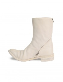 Carol Christian Poell Ivory White Boot AM/2601L