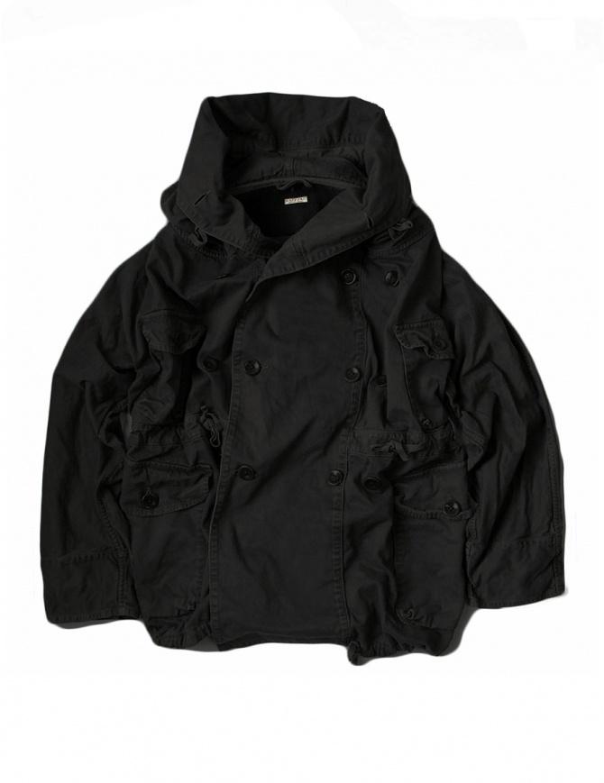 Cappotto Kapital Katsuragi Raising Ring nero EK-446 BLACK cappotti donna online shopping